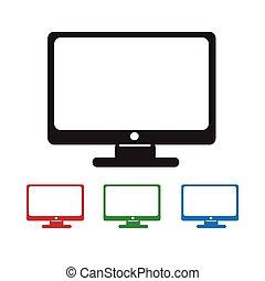 dataskærm, ikon