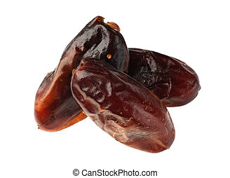 Date brown fruit
