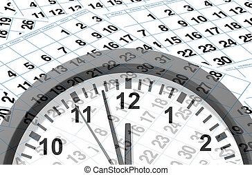 date limite, temps