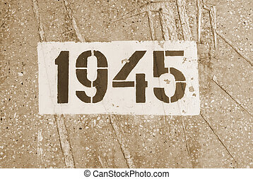date of the end of World War II