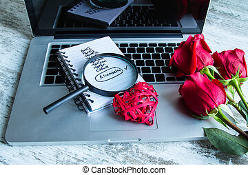 Date on line - Searching for the love on line