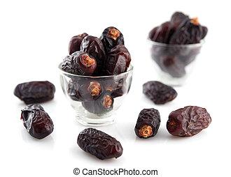 Date palm fruit - Dried date palm fruits or kurma, ramadan...