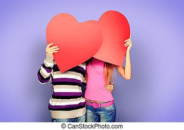 datering, liefde