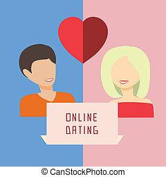 datering, online