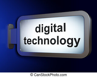 dati, concept:, tecnologia digitale, su, tabellone, fondo