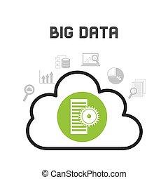 dati, grande, disegno