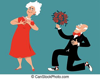 Dating at retirement community