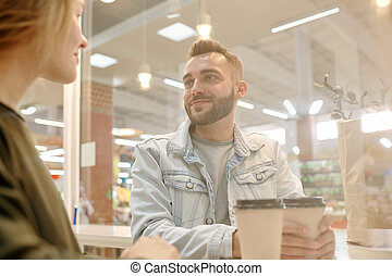 Dating in fast food restaurant