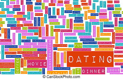 Dating Tips and Advice Checklist as Concept