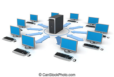 dator nät