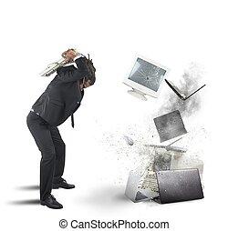 dator, stressa