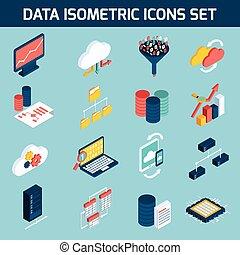 datos, análisis, iconos