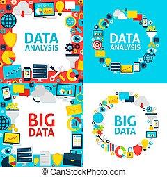 datos, análisis, plantillas