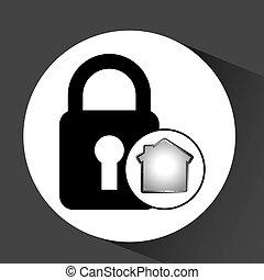 datos de la computadora, protección, seguridad, diseño