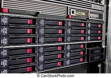 datos el almacenamiento, estante