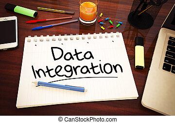 datos, integración