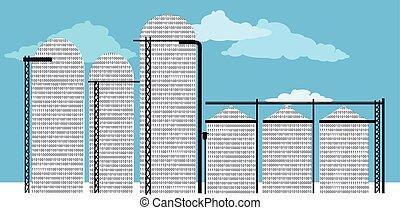 datos, silo