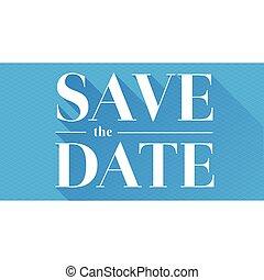 datum, sparen