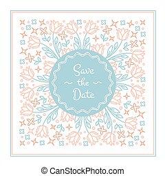 datum, sparen, kaart