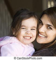 daughter., 母