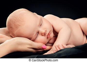 daughter sleeping