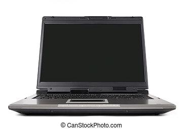 davanti, il, computer