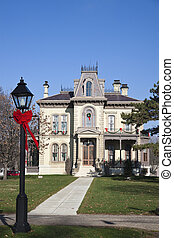 David Davis Historic Mansion in Blomington
