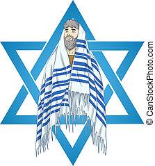 david, rabbi, estrella, talit