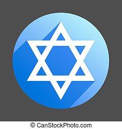 david star icon flat web sign symbol logo label