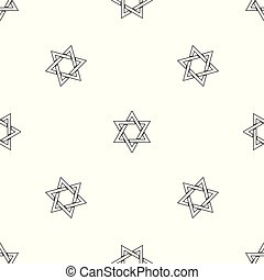 David star pattern seamless vector repeat geometric for any...