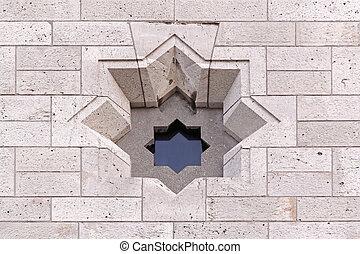 David star window