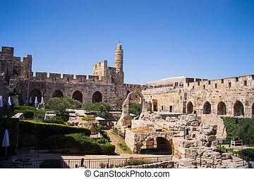 David Tower .The Old City Jerusalem.