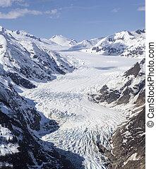 Davidson Glacier aerial