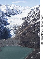 Davidson Glacier melting