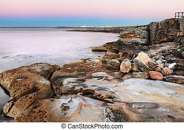 Dawn at Botany Bay, Australia