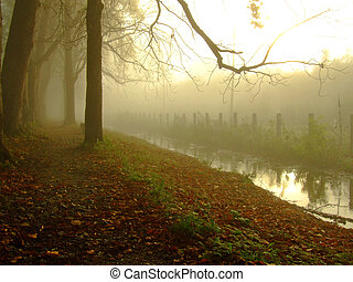 dawn at golden stream