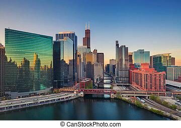 dawn., chicago