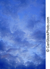 clouds - dawn, clouds on the sky