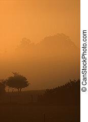 Dawn in England