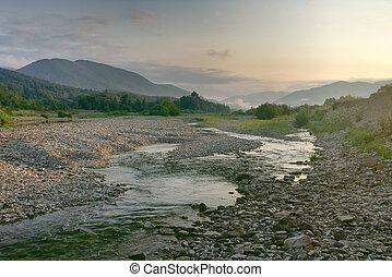 Dawn in the Caucasus-1