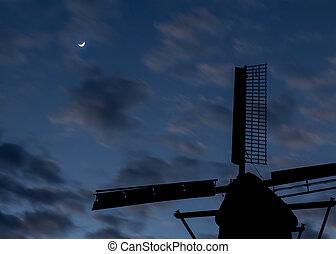 Dawn Windmill