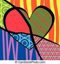 day., święto, card., list miłosny