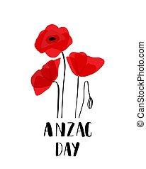 day., オーストラリア, 新しい, 軍団, 軍隊, zealand, anzac