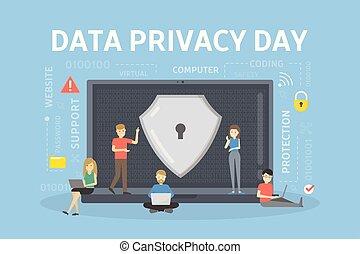 day., データ, プライバシー