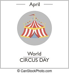 day., 世界, サーカス, 4 月