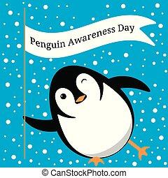day., 名前, 手掛かり, まばたき, 氷, スライド, 旗, でき事, 認識, ペンギン