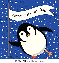 day., 名前, 手掛かり, まばたき, 氷, スライド, 旗, 世界, でき事, ペンギン