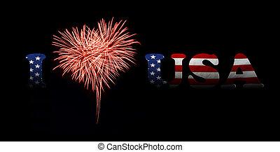 day., 愛, 独立, アメリカ