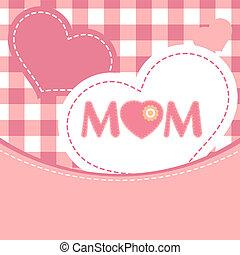 day., 8, vrolijke , eps, moeder