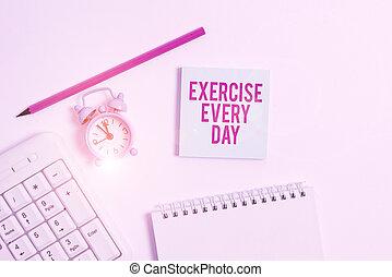 day., acima, teclado, papel, cada, ajustar, experiência., texto, movimento, escrita, branca, ordem, letra, energeticamente, significado, adquira, exercício, pc, corporal, nota, lápis, conceito, saudável, vazio